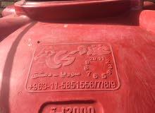 خزان ماء مستعمل سوري 2 طن نضيف