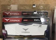 جديد كبس Teamgroup DDR4 16GB (8X2) RGB 3000MHZ