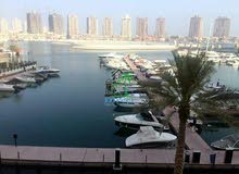 Marina view one bed ff Townhouse Porto Arabia,The Pearl ,QR9,000