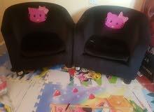 2كرسي لو لو كيتي للاطفال