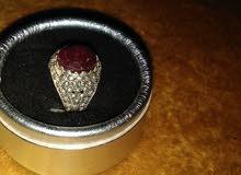 خاتم فضه 925 تصميم جميل يمني