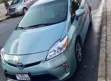 تويوتا بريوس سلفر جرين 2014 بحاله ممتازه للبيع