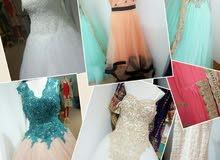 الأماكن لتأجير الفساتين