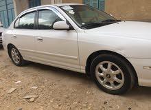 Automatic White Hyundai 2003 for sale