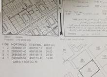 للبيع ارض سكنية في ولاية صحار منطقة مويلح