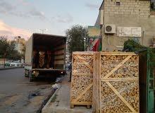 خشب مواقد جميع الصناف  مع خدمة  التوصيل