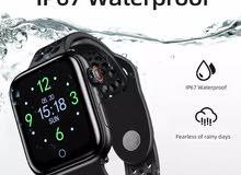 ساعة ذكية الرجال للماء Smartwatch مع مراقب معدل ضربات القلب ضغط الدم سوار لياقة