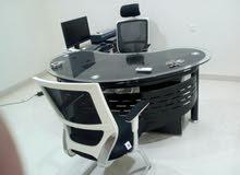 اثاث مكتب شبه جديد
