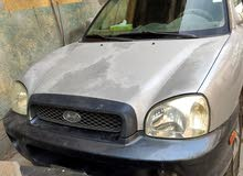 Silver Hyundai Santa Fe 2003 for sale