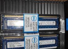 رامات كيس من شركة Dell كل القطع جديدة