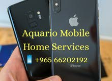 Aquario mobile services iPhone and Samsung we are fixit  home services  66202192
