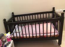 Baby bed without mattress سرير اطفال بدون مرتبة