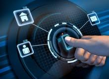 الاجهزة الامنية -واجهزة تحكم البيوت الذكية (توريد -تركيب -تمديد نقاط -صيانة )