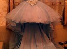 فستان حفلة ملبوس مره