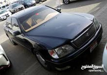 للبيع سيارة لكزس موديل 99او بدي أبدل مع حدا عندو نيسان تيدا