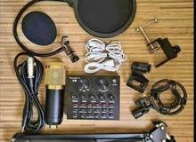 100٪ الأصلي BM-800 مكثف ميكروفون عدة كاريوكي سلكي تسجيل الصوت