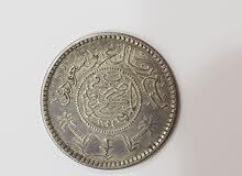 ربع ريال عام 1354ه عهد الملك عبدالعزيز