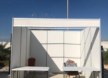 used booth size 3x3 price 50 BD