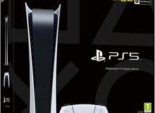 PS5 DIGITAL EDITION للبيع بلايستيشن 5
