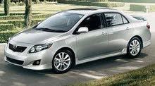I need Corolla 2008 to 2013