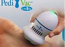 Pedi Vac لأزالة جلد القدمين الميت الأصلية