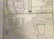 للبيع ارض سكنيه كورنر البريمي وادي الجزي القرين الاحمر مساحتها 752 م2