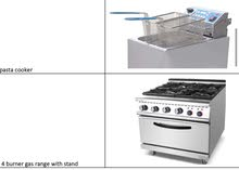 Italy made kitchen equipments and machines