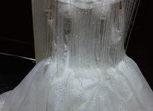 فستان زواج مستعمل