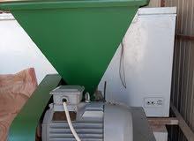 للبيع مكينة طحن او ضغط الحبوب