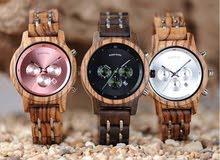 Metal & Wooden watch