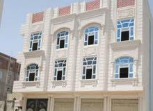 عماره في ارقى احياء العاصمه صنعاء حي الأندلس أمام مستشفى الأمانه موقع تجاري