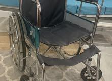 للبيع سرير طبي جديد + كرسي متحرك
