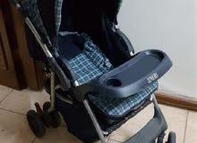 مستلزمات اطفال للبيع( مرجوحه كهربائيه و عربايه و بورت ب ب و كرسي اطفال)