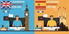 English & Spanish Tutorials online and face to face