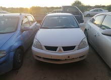 White Mitsubishi Lancer 2008 for sale