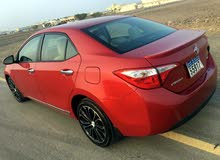 Toyota Corolla 2016 For sale - Red color