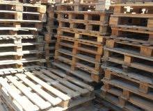 للبيع طبالي خشب مستعمل