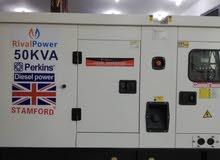 مولدات بيركنز اصلية القوة50kva الصافى45kva الكهرباء380 السعر شامل النقل