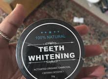 منتج تنظيف وتلميع الاسنان الكربون المنشط