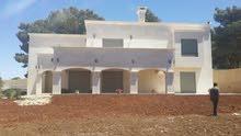 فيلا ذات اطلالة خلابة للبيع من المالك : 560م مساحة البناء ومساحة الارض 1453م