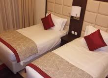 دبي البرشاء جنوب ارجان غرفتين وصالة مفروشة سوبر لوكس (فندقي) مع بلكونة- ايجار سنوي
