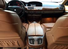 White BMW 750 2006 for sale