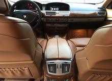 BMW750LI. خليجي رقم 1
