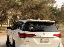 White Toyota Fortuner 2017 for sale