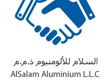 Looking for aluminum fabricators and helpers for an aluminum company located in Ras Al Khaimah.