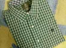 قميص Tembrland Original جديد مقاس M/M بالاختام والكود