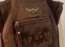 Zadig et Voltaire violet handbag