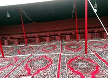 تاجير خيم وحمامات و خيام للافراح والعزاء