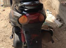 New Aprilia motorbike in Basra