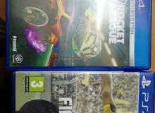 CD FIFA17 + Rocket League